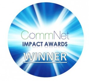 CommNet Impact Award Winner logo