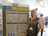 Nathalie Michels presents her poster (using IDEFICS data) at ECO 2015